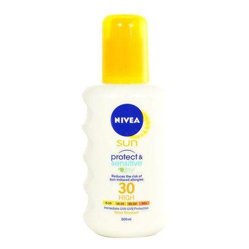 Nivea sun protect & sensitive spray spf30 200ml w opalanie