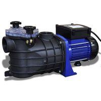 vidaXL Elektryczna pompa do basenu 600W Niebieska (8718475861263)