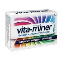 Drażetki Vita-miner z luteiną x 30 draż.