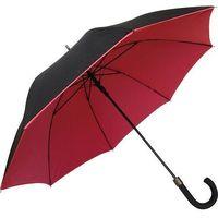 Parasol smati czerwony z podwójnej tkaniny