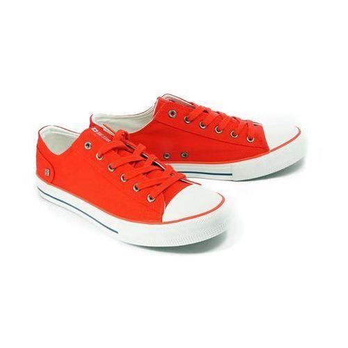dd174274 czerwony, półtrampki męskie - czerwony marki Big star