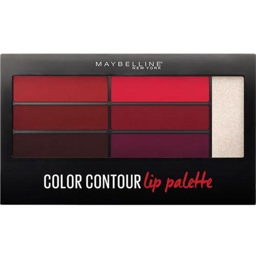 Maybelline Color drama lip contour palette paleta do konturowania ust crimson vixen 4g - Bardzo popularne