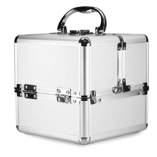 Neonail kuferek kosmetyczny kostka - srebrny
