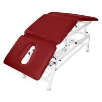 Stół rehabilitacyjny 3-cz. elektryczny z funkcją pivot ręczny master 3e-p marki Bardo-med