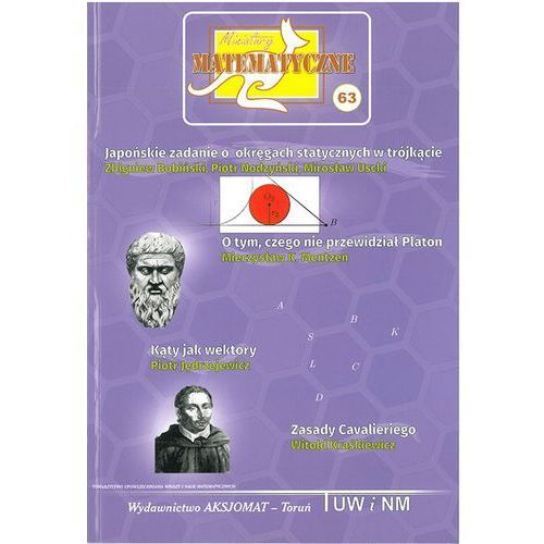 Miniatury matematyczne 63 Japońskie zadanie o.... (2018)