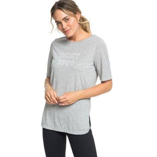 Koszulka - brooklyn baby a heritage heather (sgrh) rozmiar: l marki Roxy