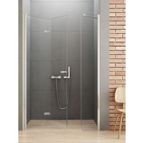 gold drzwi prysznicowe new soleo 110, lewe, wys. 195 cm, szkło czyste 6mm d-0148a/d-0094b marki New trendy