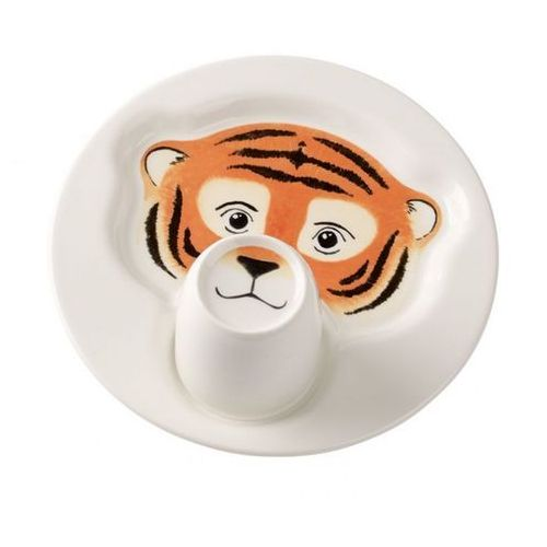 Animal friends zestaw dla dzieci tygrys ilość elementów: 4 Villeroy & boch