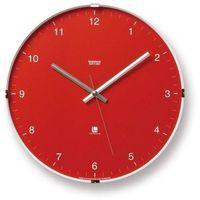 Zegar ścienny North czerwony (4260278081132)