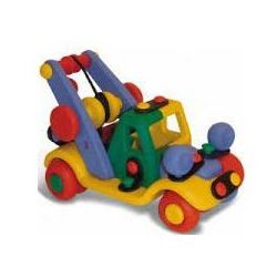 Mic-o-mic - zabawki konstrukcyjne Zestaw do składania mic-o-mic wesoły konstruktor mały samochód holowniczy