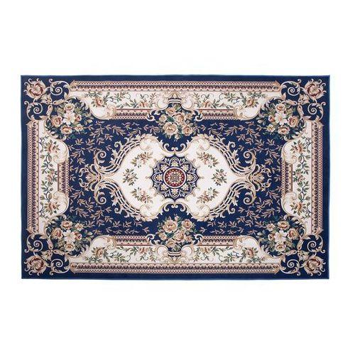 Dywan 140 x 200 cm niebieski GAZIANTEP (Beliani)