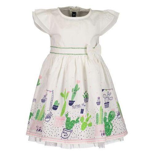4f39569d41 Zobacz ofertę Blue Seven sukienka dziewczęca z nadrukiem 74 biała