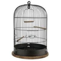 Zolux Klatka Retro Marthe śr. 45 dla ptaków kol. czarny Dostawa GRATIS od 99 zł + super okazje
