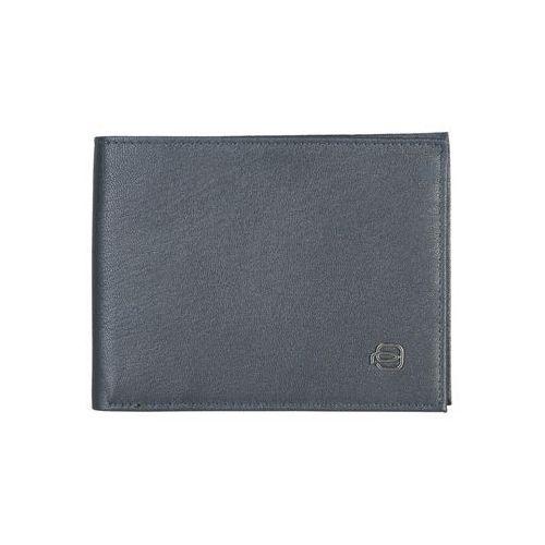 Piquadro Męski portfel skórzany pu257x2 niebieski