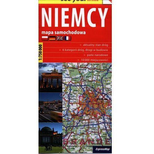 See you! in... Niemcy 1:750 000 mapa samochodowa - Praca zbiorowa, oprawa broszurowa