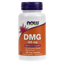 Kapsułki Now Foods DMG 125 mg - 100 kapsułek