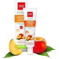 Splat Juicy Brzoskwinia - Pasta dla dzieci z hydroksyapatytem 35 ml