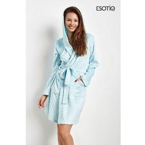 03d6430cd95dea Esotiq Carly 35073-50X błękitny szlafrok damski, kolor niebieski ...