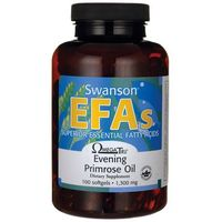 Swanson Evening Primrose Oil (Olej z nasion wiesiołka) 1300mg 100 kaps.