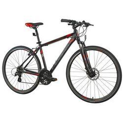 Indiana Rower cross 2.0 m21 czarno-czerwony   5 lat gwarancji na ramę darmowy transport