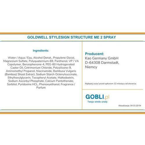 Goldwell stylesign structure me spray 150ml nadający strukturę fryzurze szybka wysyłka infolinia: 690-80-80-88 (4021609278313)