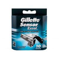 Gillette Sensor Excel wkład do maszynki 10 szt dla mężczyzn