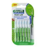 Gum trav-ler szczoteczka międzyzębowa 1.1 mm zielona 6 szt. marki Sunstar