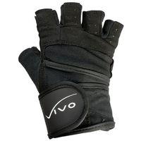 Rękawice kulturystyczne Vivo 1701 black