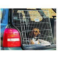 Savic Klatka transportowa dog residence mobile z poduszką - l: dł. x szer. x wys.: 91 x 61 x 71 cm