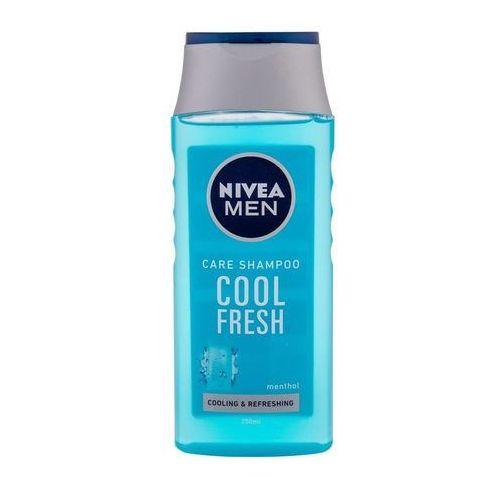 Nivea men cool szampon do włosów normalnych i przetłuszczających się (cool fresh) 250 ml - Genialny rabat
