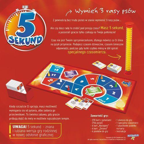 Gra 5 Sekund Edycja 2019 +DARMOWA DOSTAWA przy płatności KUP Z TWISTO