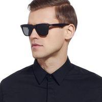 Okulary przeciwsłoneczne męskie polaryzacyjne gray - szary