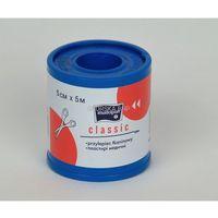 Przylepiec tkaninowy 5 cm x 5 m (plaster bez opatrunku)