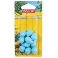 Zolux sztuczne jajka kanarka 10 sztuk - darmowa dostawa od 95 zł! (3336021341059)