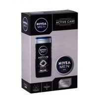 Nivea men active clean zestaw 250 ml dla mężczyzn (9005800322575)