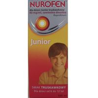 Nurofen Junior zawiesina x 100ml /truskawkowa (5909990843367)