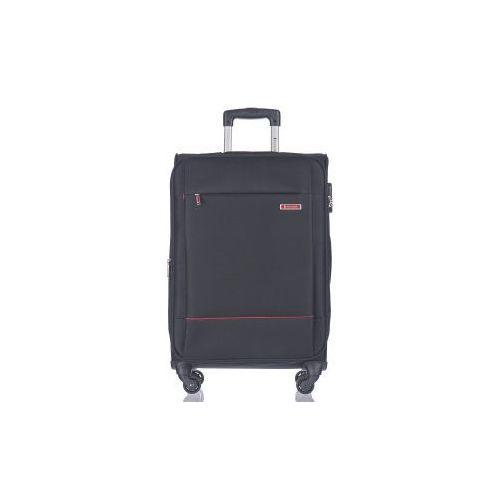 PUCCINI walizka duża EM50720 z kolekcji PARMA 4 koła materiał poliester zamek szyfrowy możliwość poszerzenia