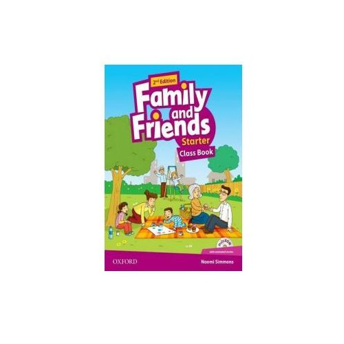 Family and Friends: Starter: Class Book with Student MultiROM, oprawa broszurowa