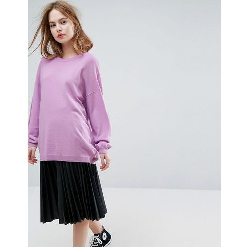 ASOS Jumper In Oversize - Purple, oversize