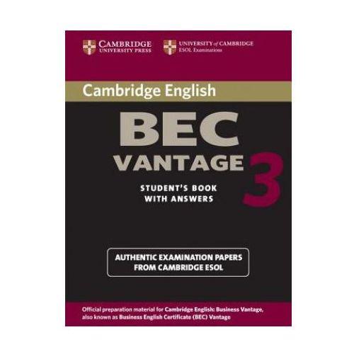 Camb BEC 3 Vantage SB w/ans (128 str.)