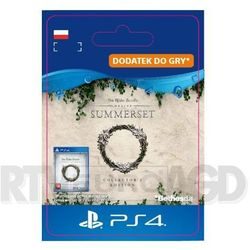 The Elder Scrolls Online: Summerset Collector's Ed. Upgrade [kod aktywacyjny]