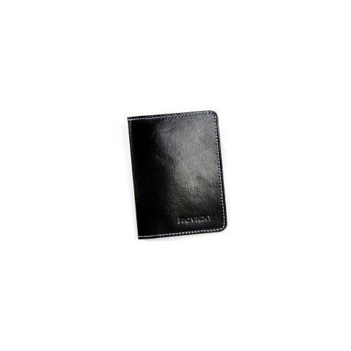 Cienki portfel skórzany bez podszewki Rovicky Okł. 1 C, Okładka 1 C