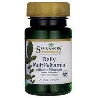 Daily Multi-Vitamin, 30 kapsułek - Długi termin ważności! DARMOWA DOSTAWA od 39,99zł do 2kg!