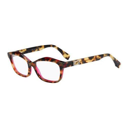 Okulary korekcyjne ff 0094 baguette d4y Fendi