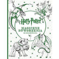 Harry Potter. Magiczne stworzenia do kolorowania,