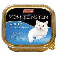 Animonda Vom Feinsten CAT Adult Łosoś z krewetkami 100g