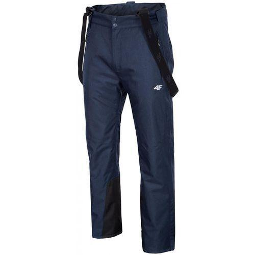 4f męskie spodnie narciarskie h4z17 spmn004 granatowy melanż l