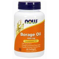 Kapsułki Now Foods Borage Oil - Olej z ogórecznika 60 kaps.