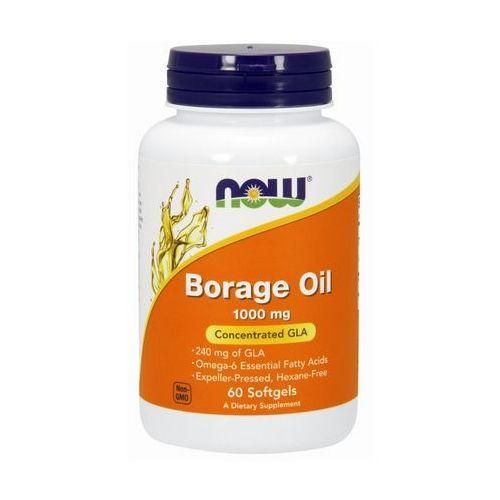 Kapsułki Now Foods Borage Oil - Olej z ogórecznika 60 kaps