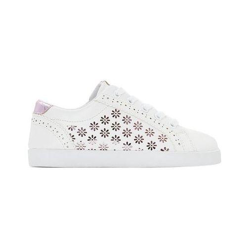 Buty sportowe z dziurkami w kształcie kwiatków 26 39 (La Redoute Collections)